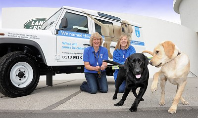 Land Rover for Guide Dogs